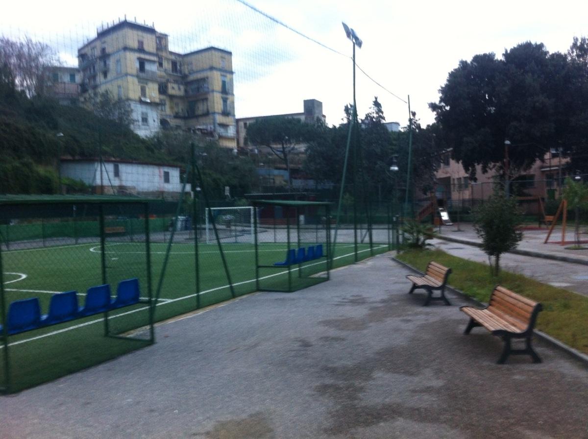 Gli impianti sportivi nel quartiere Sanità